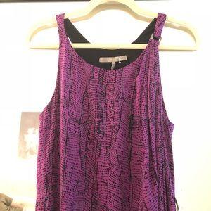 Halston Heritage silk dress